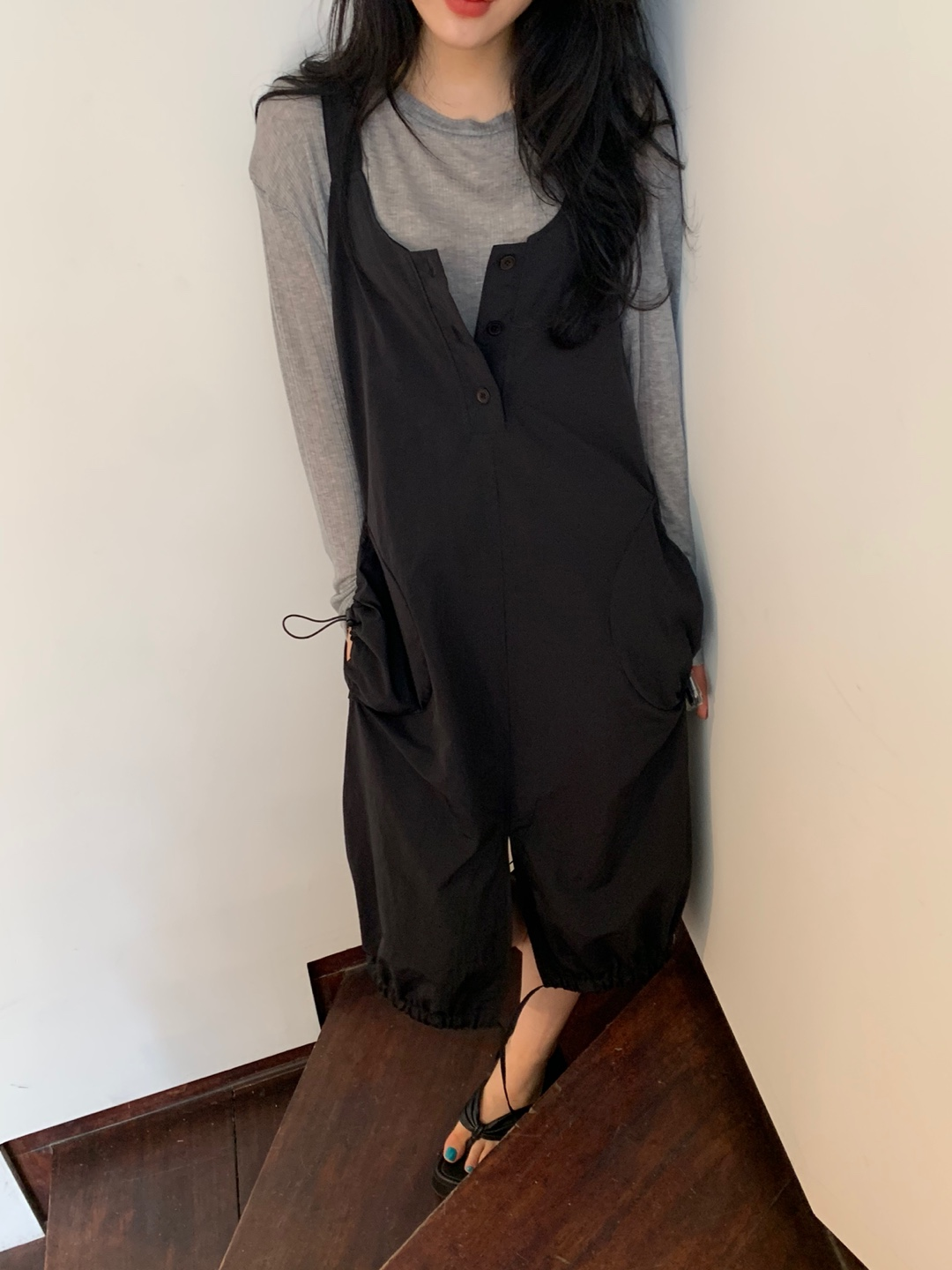 seer overall ops-black