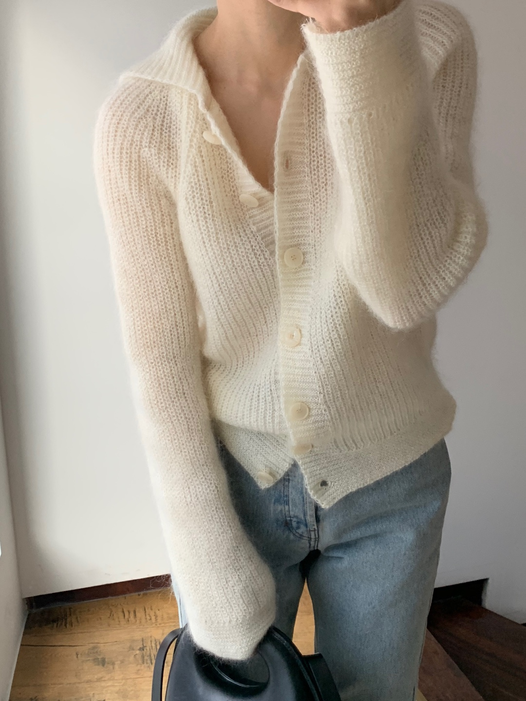 sailor wool knit-ivory