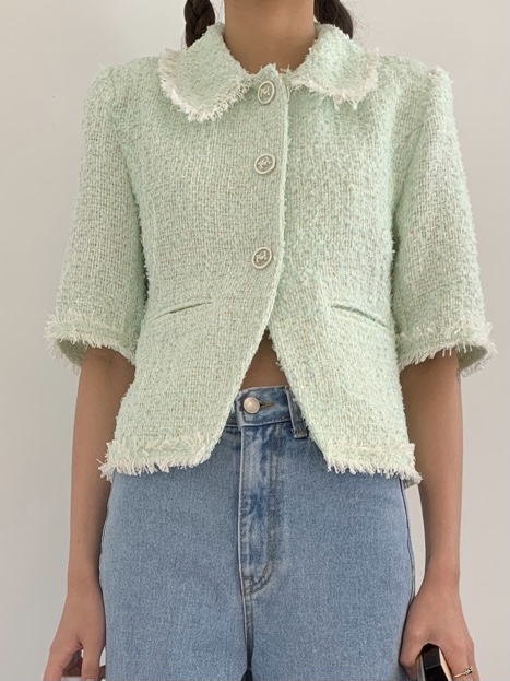 our tweed-mint(2주지연)